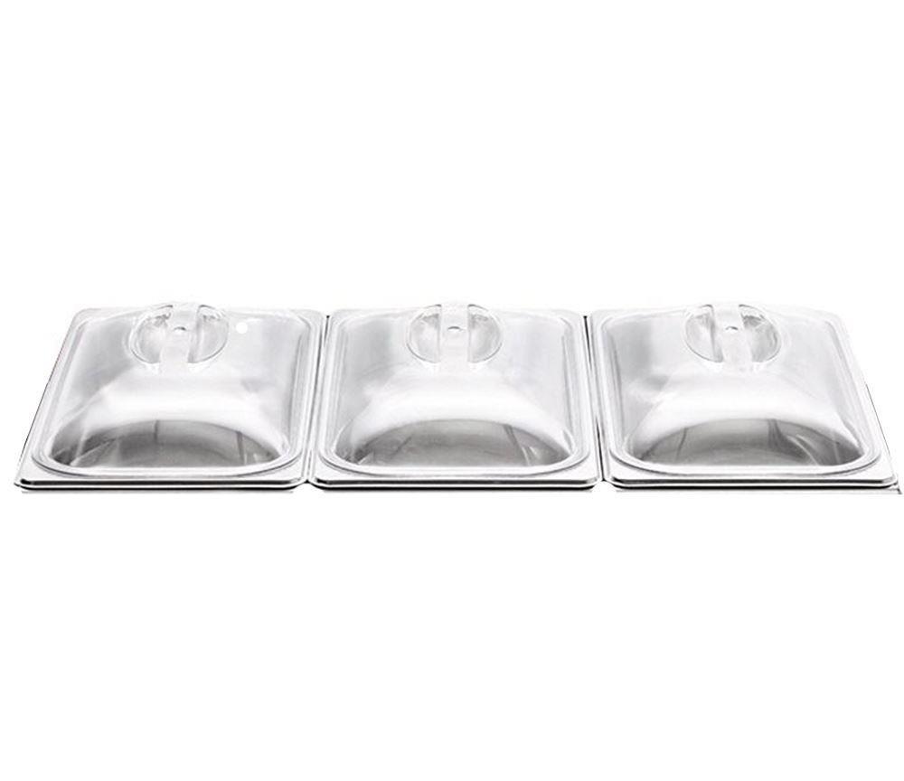 Strange 3 X Spare Lids For 3Pan Buffet Server Warm Tray Interior Design Ideas Clesiryabchikinfo