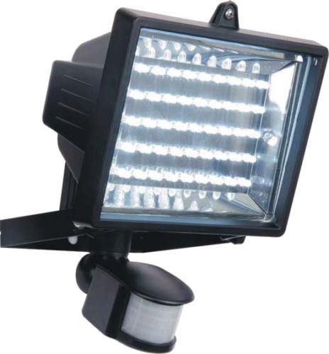 45 LED BULB FLOOD LIGHT PIR SECURITY MOTION SENSOR OUTDOOR